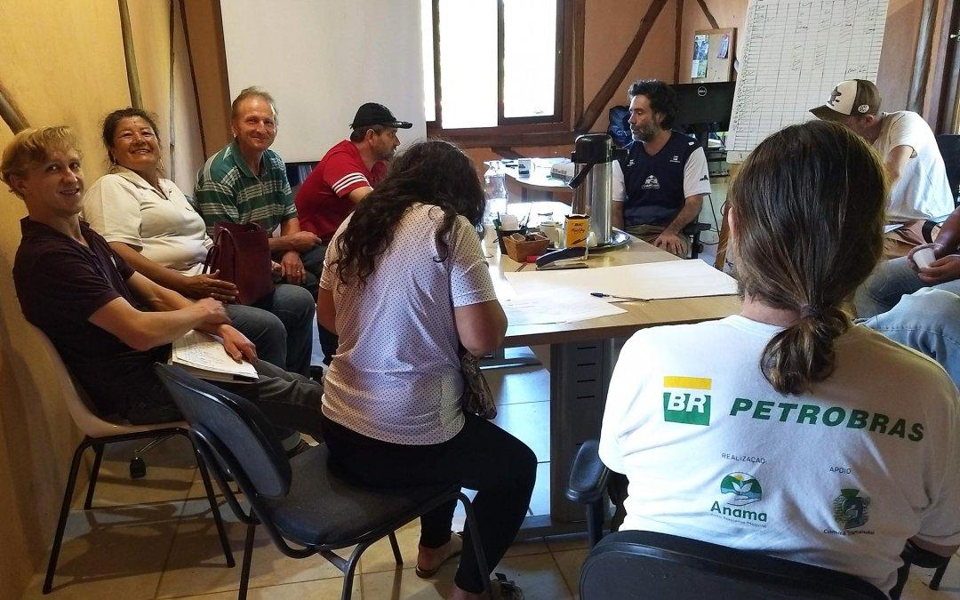 Oficina ajuda agricultores a desenvolver Sistemas Agroflorestais