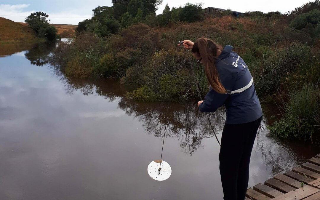 Monitoramento da qualidade da água da Bacia do Tramandaí