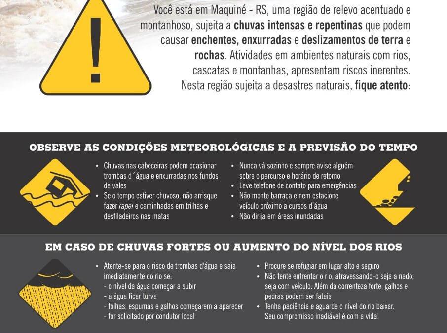 Defesa Civil em Maquiné/RS