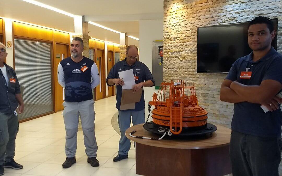 Projeto Taramandahy e Comitê de Bacia fazem visita técnica ao Terminal Aquaviário da Transpetro