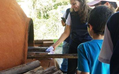Jovem apresenta pesquisa científica na prática para sua comunidade