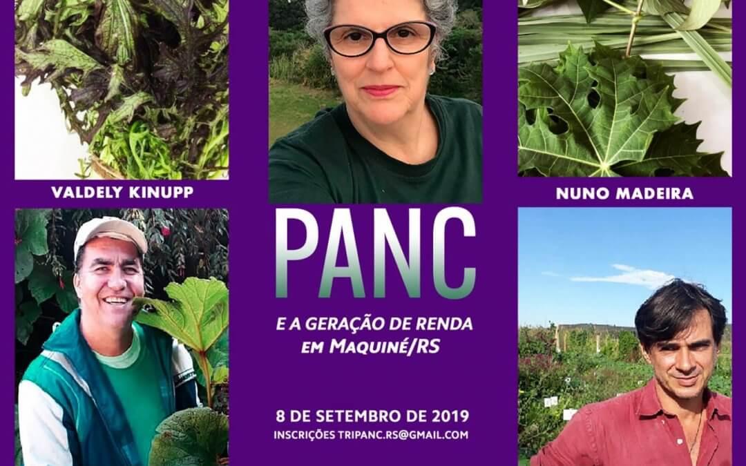 Vivência PANC e a geração de renda