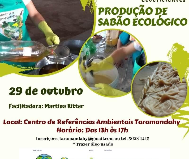 Oficina de Tecnologias Ecoeficientes: produção de sabão ecológico biodegradável com óleo de cozinha usado