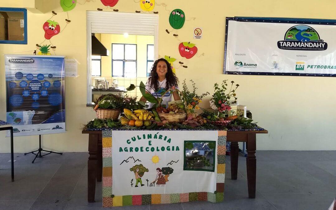 Alimentos orgânicos e preparos caseiros guiaram a II Oficina de Culinária e Agroeocologia