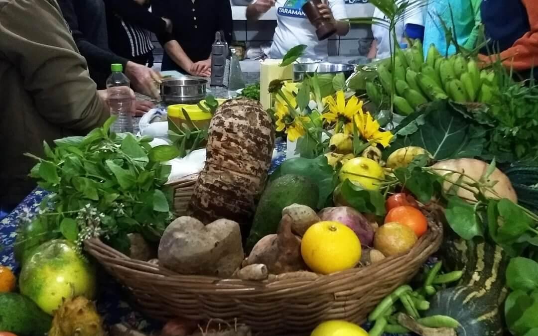 Oficina de Culinária e Agroecologia na Barra do Ouro (20/06/2018)