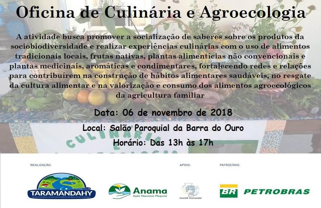 Oficina de Culinária e Agroecologia – Barra do Ouro