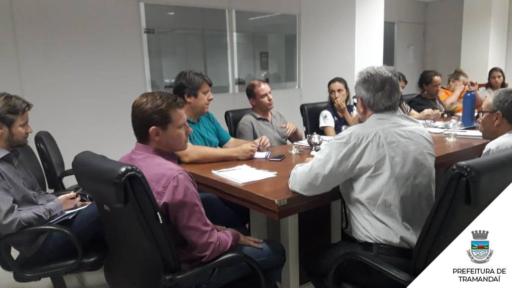 Resiíduos Sólidos: Reunião com Conselho dos Dirigentes do Meio Ambiente (CONDIMA)
