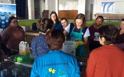 Projeto Taramandahy convida para oficina de produção de sabão ecológico
